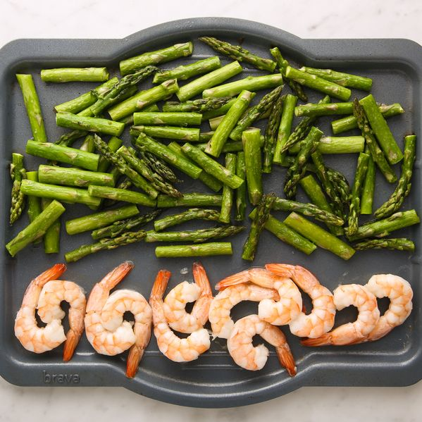 Shrimp and Asparagus narrow display