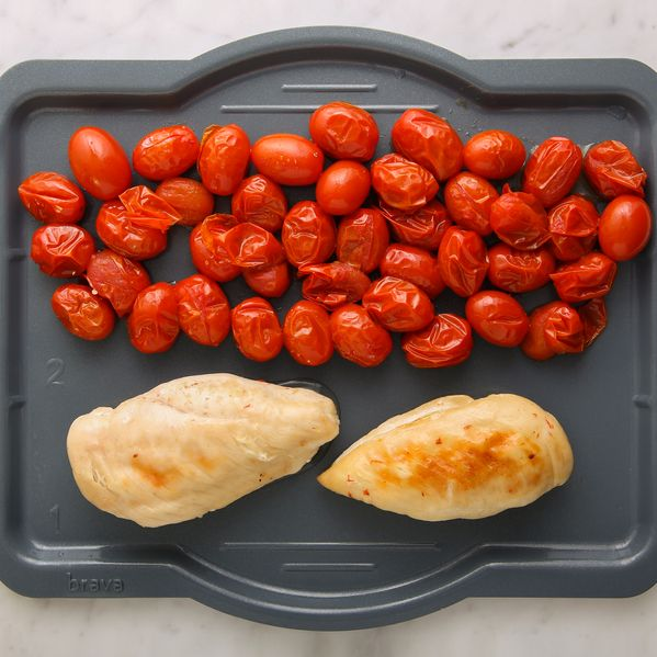 Chicken Breasts and Cherry Tomatoes narrow display