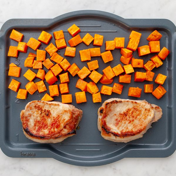 Pork Chops (Boneless) and Sweet Potatoes narrow display