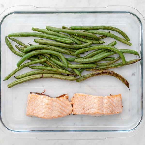 Salmon & Green Beans narrow display