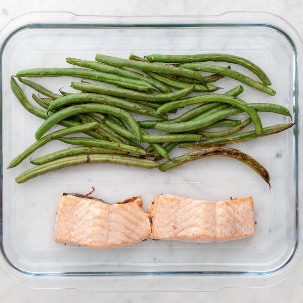 Salmon (Skin on) and Green Beans narrow display
