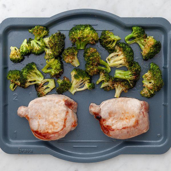 Pork Chops (Boneless) and Broccoli narrow display