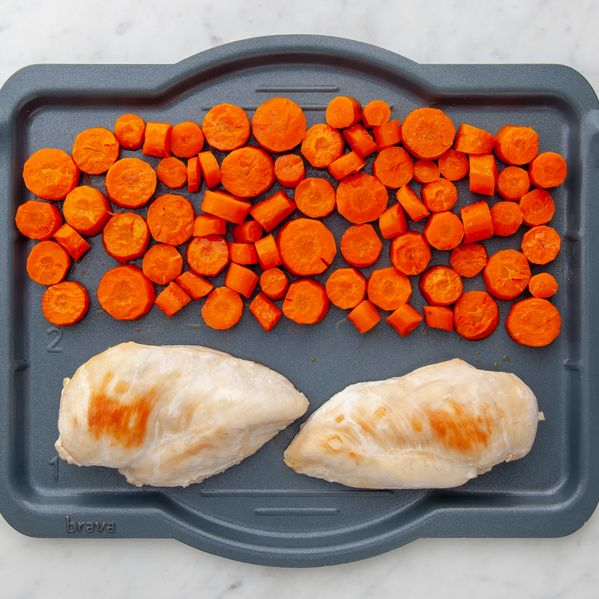 Chicken Breasts and Carrots narrow display
