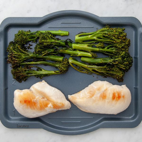 Chicken Breasts and Baby Broccoli narrow display