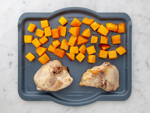 Chicken Thighs (Bone-In and Skin-On) and Butternut Squash wide display