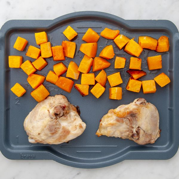 Chicken Thighs (Bone-In and Skin-On) and Butternut Squash narrow display