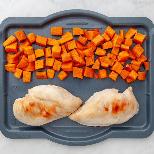 Chicken Breasts and Sweet Potatoes narrow display