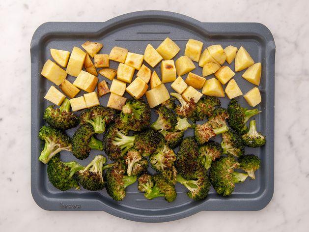 Broccoli & Potatoes wide display
