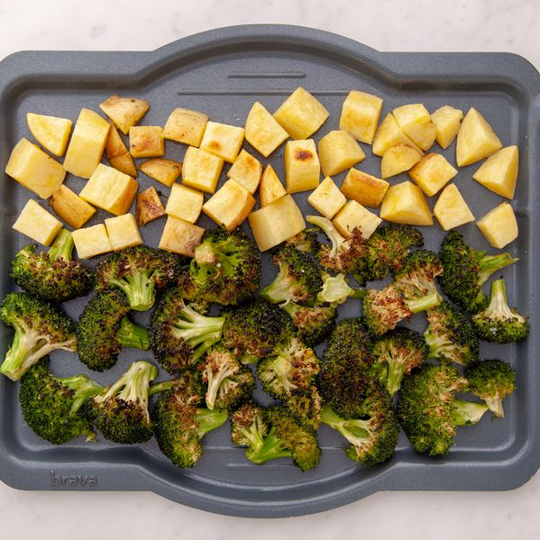 Broccoli and Potatoes narrow display