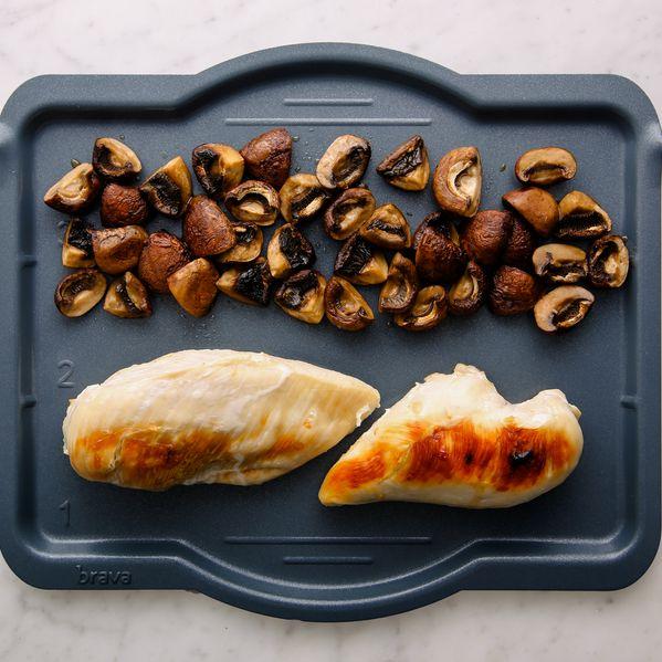 Chicken Breasts & Mushrooms narrow display