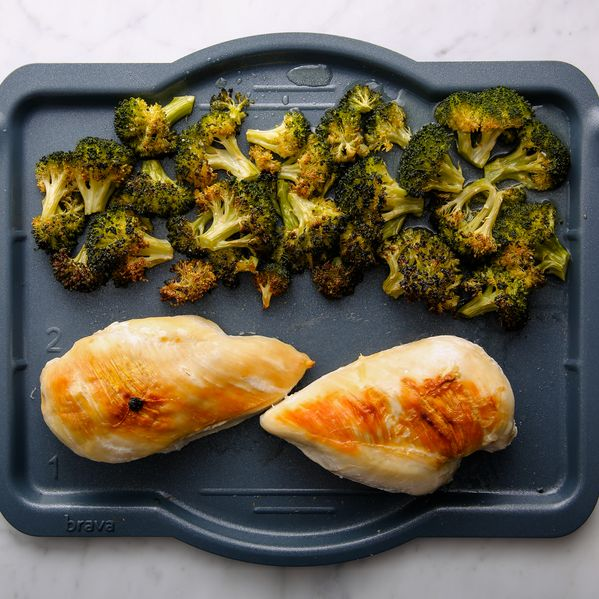 Chicken Breasts and Broccoli narrow display