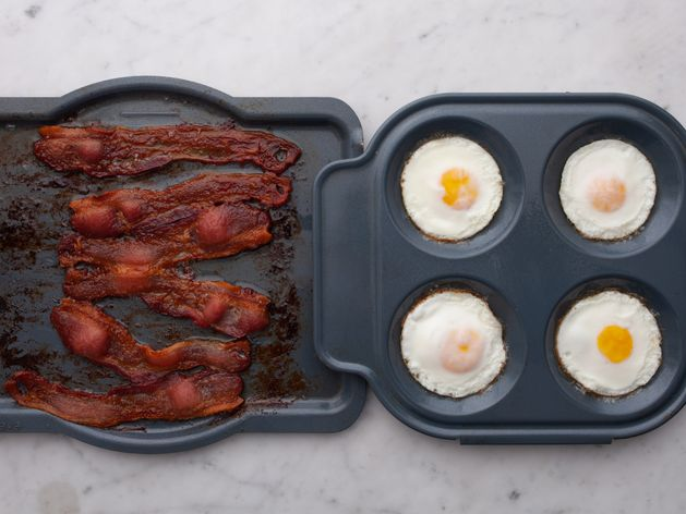 Eggs and Bacon wide display