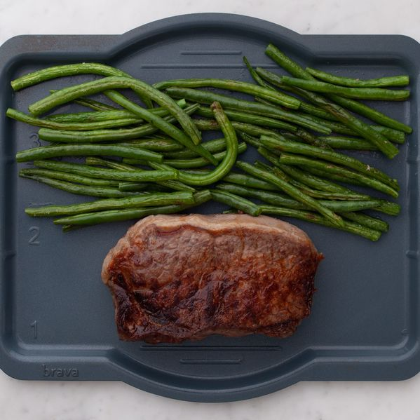 NY Strip Steak and Green Beans narrow display