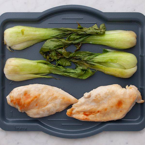 Chicken Breasts and Bok Choy narrow display