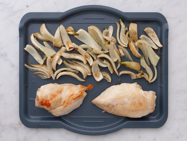 Chicken Breasts & Fennel wide display