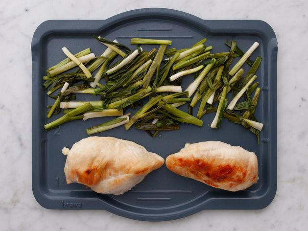 Chicken Breasts & Green Onions wide display