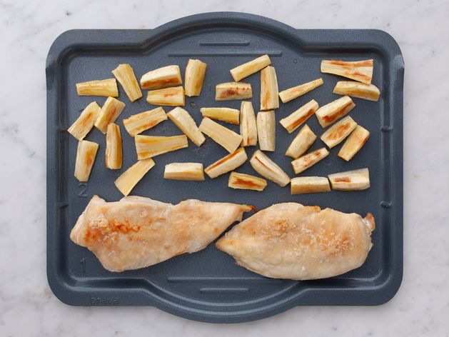 Chicken Breasts and Parsnips wide display