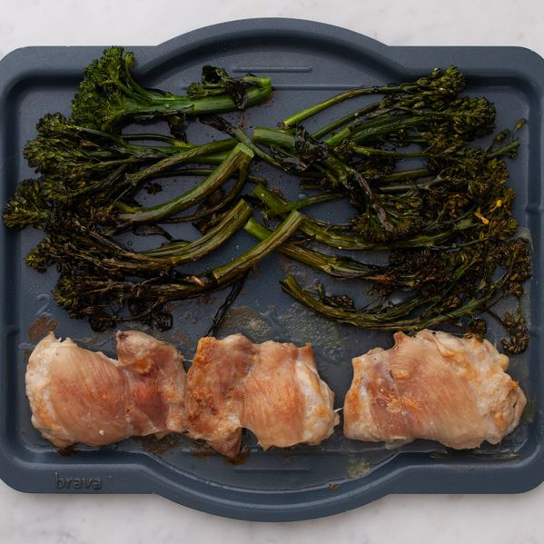 Chicken Thighs (Boneless and Skinless) with Baby Broccoli narrow display