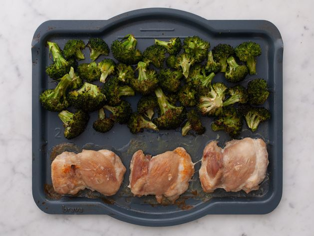 Chicken Thighs (Boneless and Skinless) with Broccoli