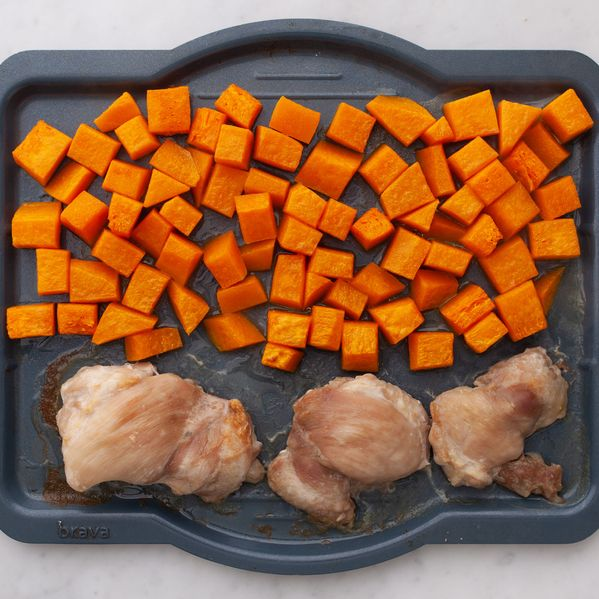 Chicken Thighs (Boneless and Skinless) with Butternut Squash narrow display