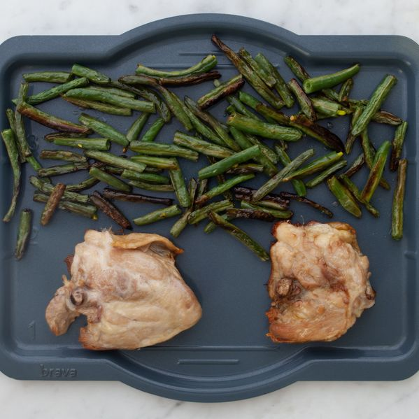 Chicken Thighs (Bone-In and Skin-On) and Green Beans narrow display