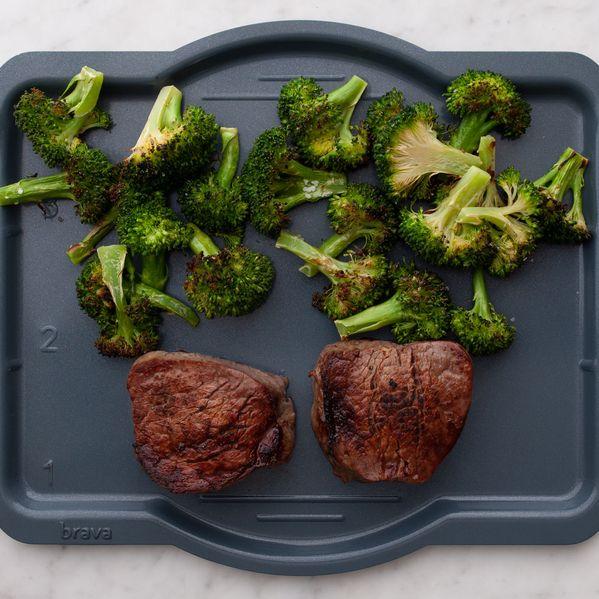 Filet Mignon and Broccoli narrow display