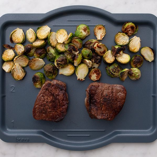 Filet Mignon and Brussels Sprouts narrow display