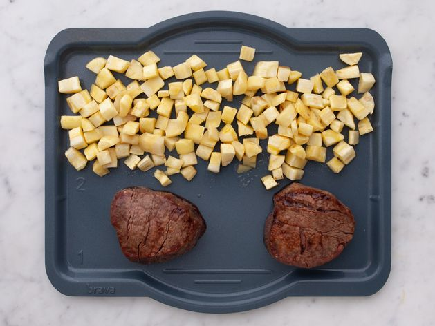 Filet Mignon and Parsnips wide display
