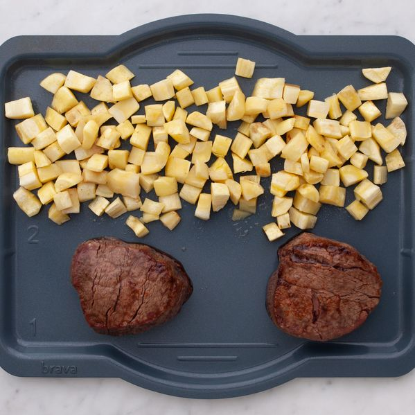 Filet Mignon and Parsnips narrow display