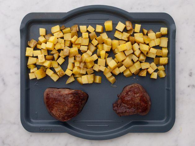 Filet Mignon and Yukon Gold Potatoes wide display