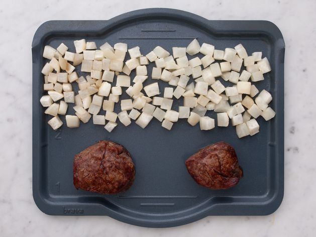 Filet Mignon and Turnips wide display