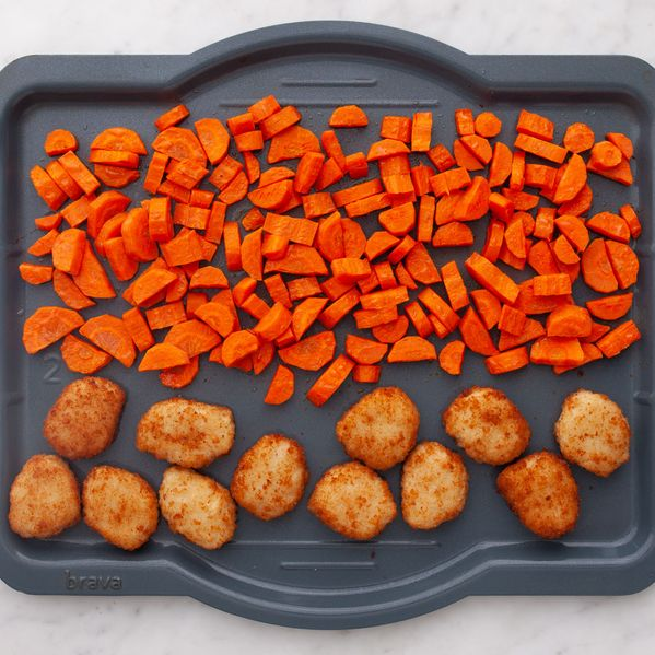 Chicken Nuggets & Carrots narrow display