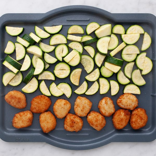 Chicken Nuggets and Zucchini narrow display