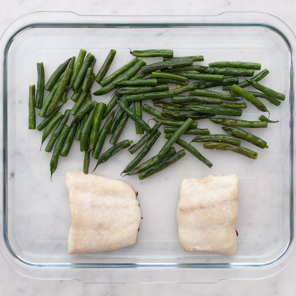 Halibut and Green Beans narrow display