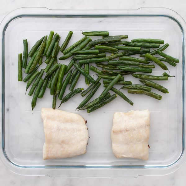 Halibut and Green Beans narrow display