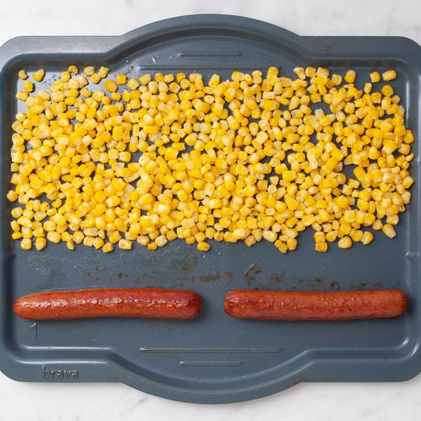 Hot Dogs and Frozen Corn narrow display