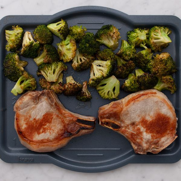 Pork Chops (Bone-In) and Broccoli narrow display