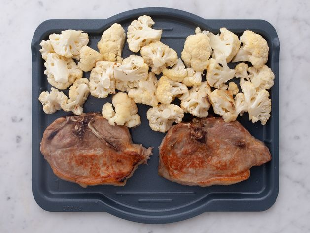Pork Chops (Bone-In) and Cauliflower wide display
