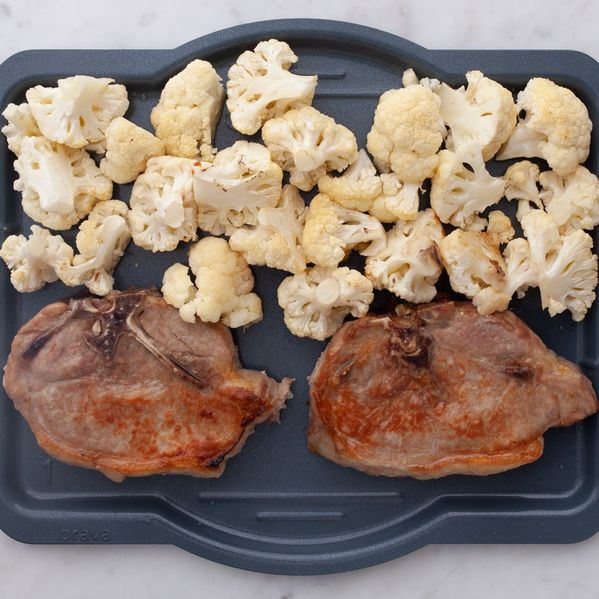 Pork Chops (Bone-In) and Cauliflower narrow display