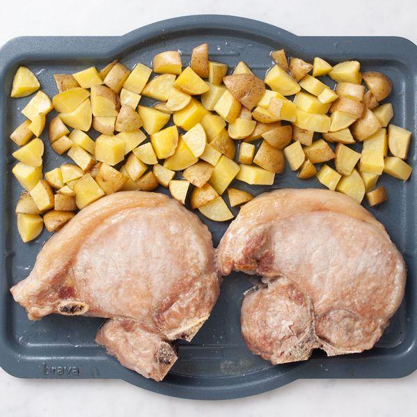 Pork Chops (Bone-In) and Potatoes narrow display