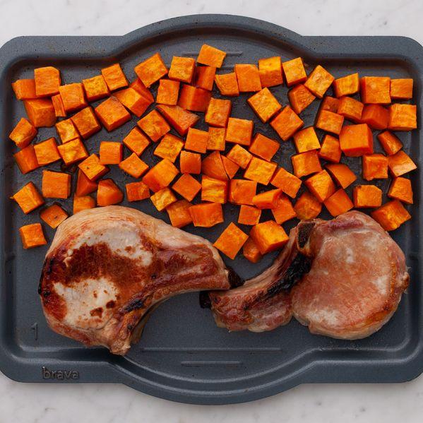Pork Chops (Bone-In) and Sweet Potatoes narrow display