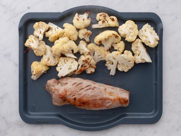 Pork Tenderloin and Cauliflower wide display