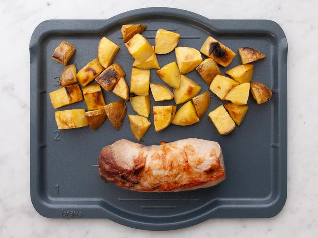 Pork Tenderloin and Potatoes wide display