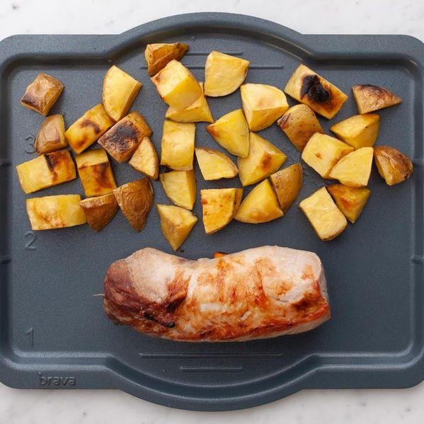Pork Tenderloin and Potatoes narrow display