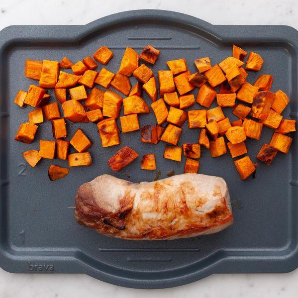 Pork Tenderloin & Sweet Potatoes narrow display