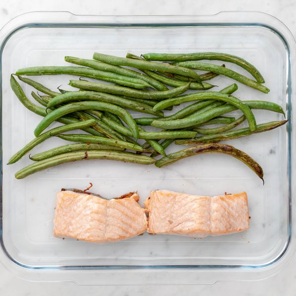 Salmon (Skinless) and Green Beans narrow display