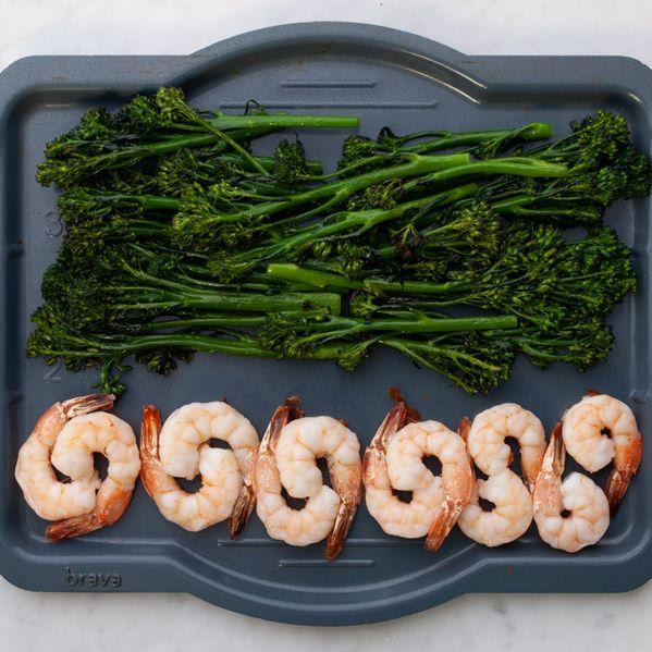 Shrimp and Baby Broccoli narrow display