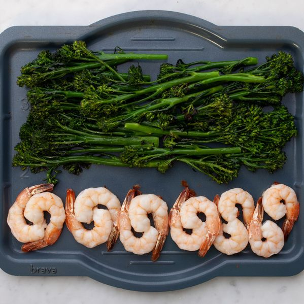Shrimp and Baby Broccoli narrow display