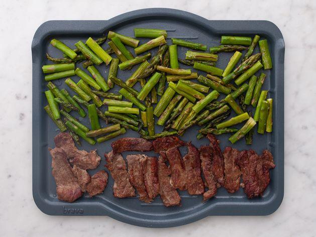 Stir-Fry Beef and Asparagus wide display