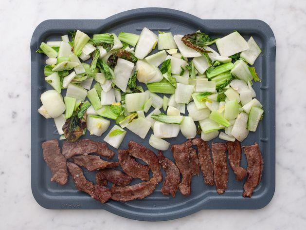 Stir-Fry Beef and Bok Choy wide display